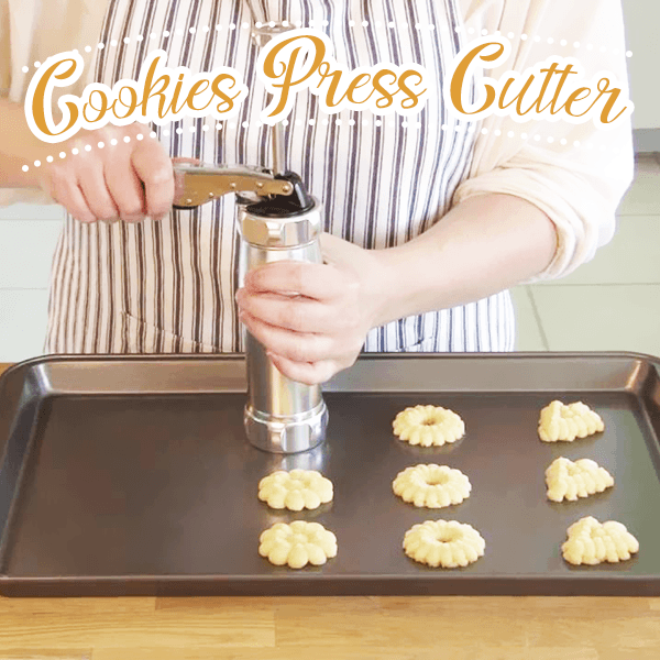 Cookie Press Cutter Set (20 molds)