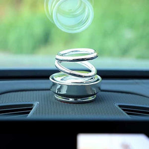 Double Rings Rotatable Car Air Freshener