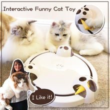 Load image into Gallery viewer, Interactive Funny Cat Toy