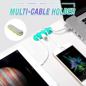 Silicone Multi-Cable Holder (2 Pcs)