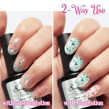 Load image into Gallery viewer, Dried Floral Gel Nail Art