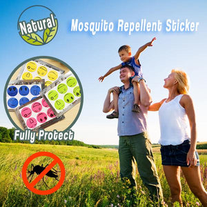 Natural Mosquito Repellent Sticker