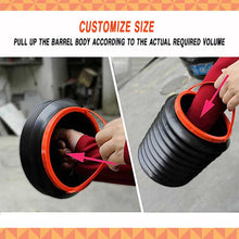 Load image into Gallery viewer, 4L Foldable Retractable Car Bucket
