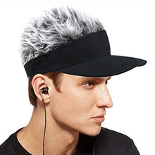 Load image into Gallery viewer, Adjustable Men's Baseball Wig Cap