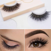 Load image into Gallery viewer, Reusable Self-Adhesive Natural Curly Eyelashes