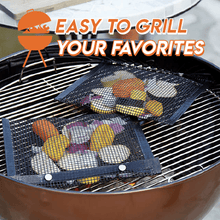Load image into Gallery viewer, Reusable Non-Stick Grill Bag (5PCS)