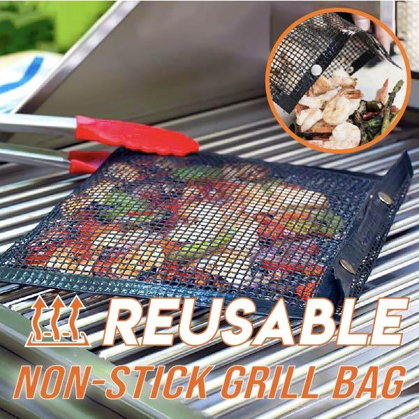 Reusable Non-Stick Grill Bag (5PCS)