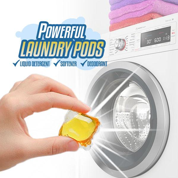 Powerful Laundry Pods