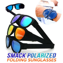 Load image into Gallery viewer, Smack Polarized Folding Sunglasses