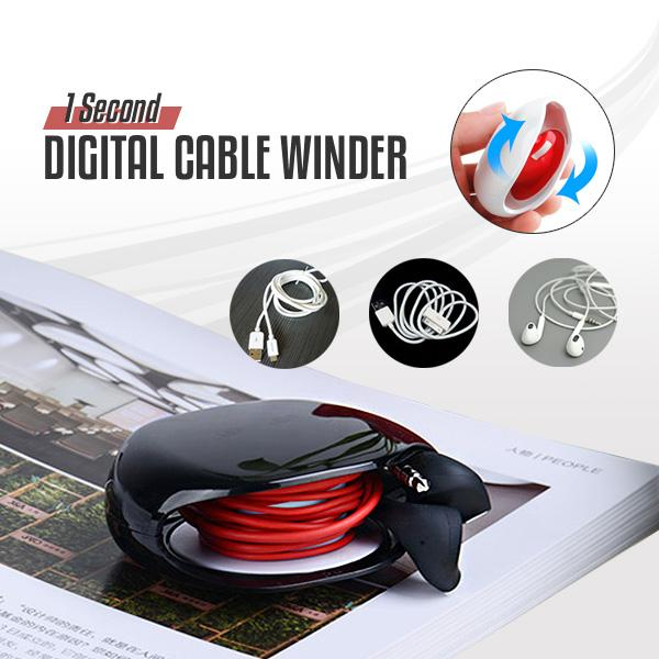 1 Second Digital Cable Winder
