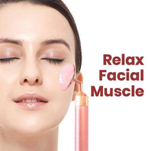 Load image into Gallery viewer, Rose Quartz Facial Massager