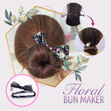 Load image into Gallery viewer, Floral Bun Maker