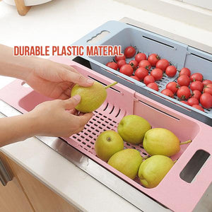 Retractable Food Washing Basket