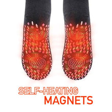 Load image into Gallery viewer, Self-Heating Magnetic Tourmaline Socks