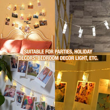 Load image into Gallery viewer, Photo Clip Lamp LED String Light