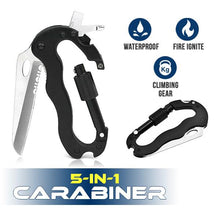 Load image into Gallery viewer, 5-in-1 Carabiner