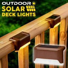 Load image into Gallery viewer, Outdoor Solar Deck Lights