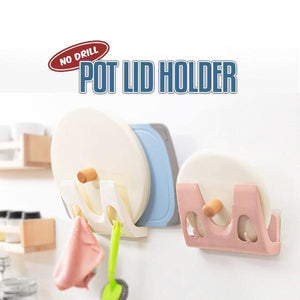 No Drilling Pot Lid Holder