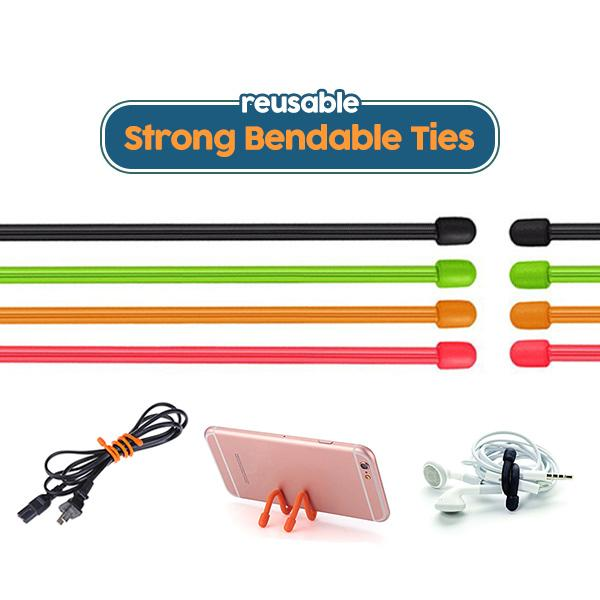 Strong Bendable Ties