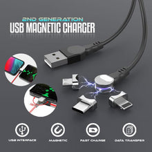Load image into Gallery viewer, 2nd Generation USB Magnetic Charger