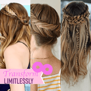 Easy Headband Braids