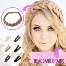Load image into Gallery viewer, Easy Headband Braids