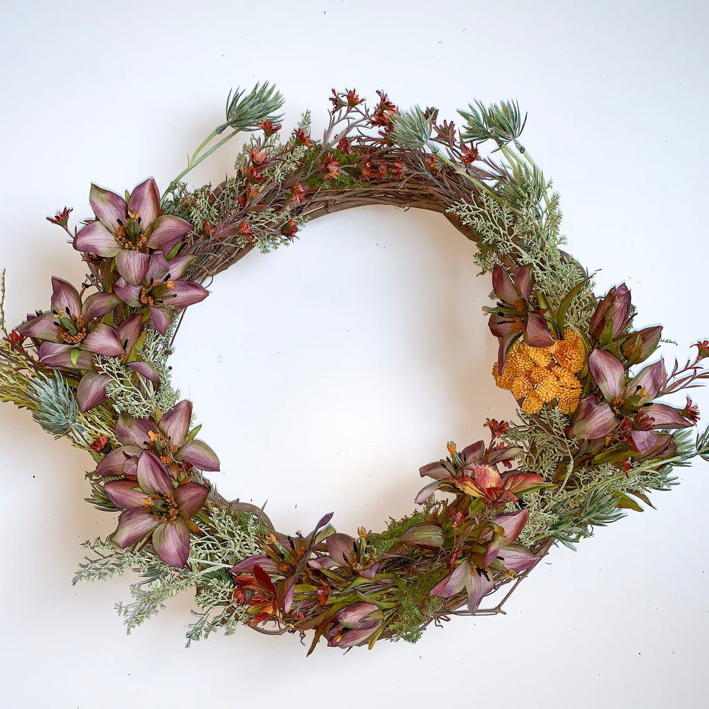 Gentian Wreath