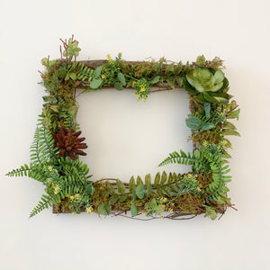 Picture Frame Succulent