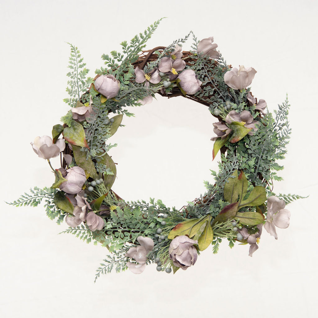 Vintage Gray Wreath