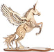 Shop Natural Wood 3D Puzzle Flying Unicorn Wooden Jigsaw Craft Building Set - Aliens Poop