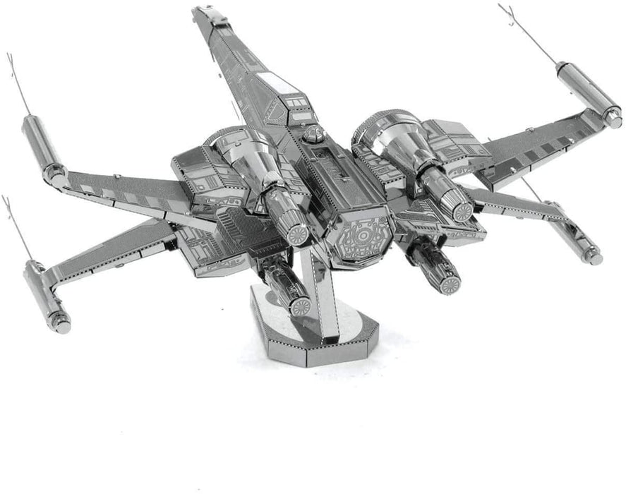 Shop Fascinations Metal Earth Star Wars Force Awakens Poe Dameron's X-Wing Fighter 3D Metal Model Kit - Aliens Poop