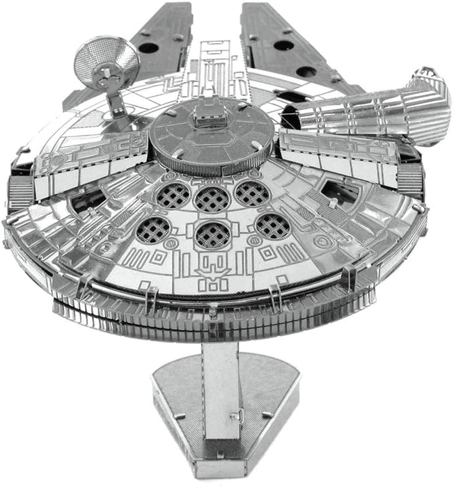 Shop Fascinations Metal Earth Star Wars Millennium Falcon 3D Metal Model Kit - Aliens Poop