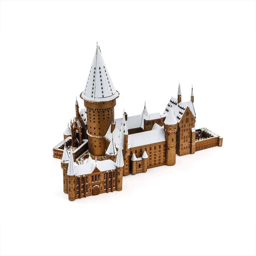 Shop Fascinations Metal Earth ICONX Premium Series Harry Potter Hogwarts Castle in Snow 3D Metal Model Kit - Aliens Poop