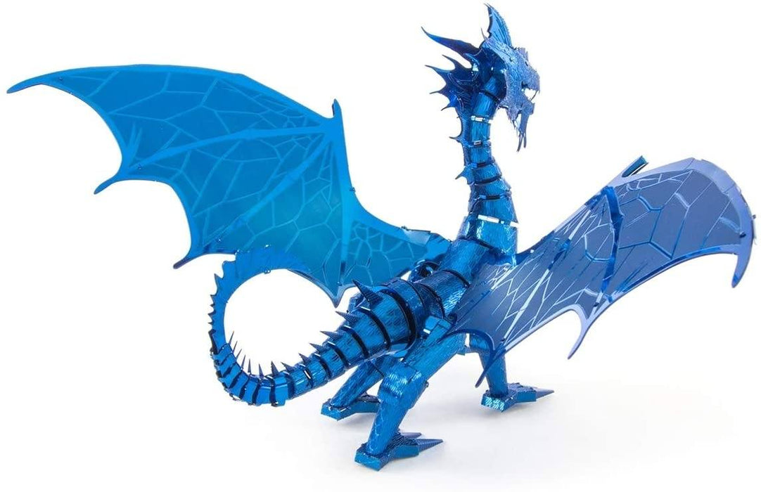 Shop Fascinations Metal Earth ICONX Blue Dragon 3D Metal Model Kit - Aliens Poop