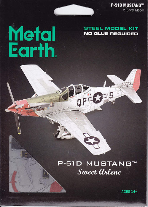 Shop Fascinations Metal Earth P-51D Mustang Sweet Arlene 3D Metal Model Kit - Aliens Poop