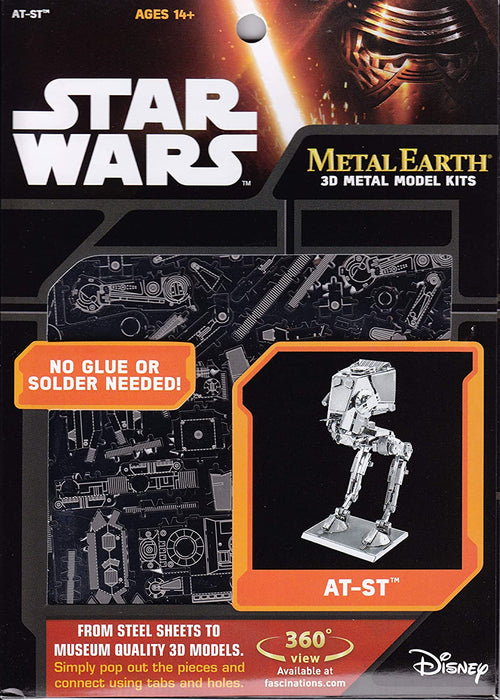 Shop Metal Earth Fascinations Star Wars at-ST 3D Metal Model Kit - Aliens Poop