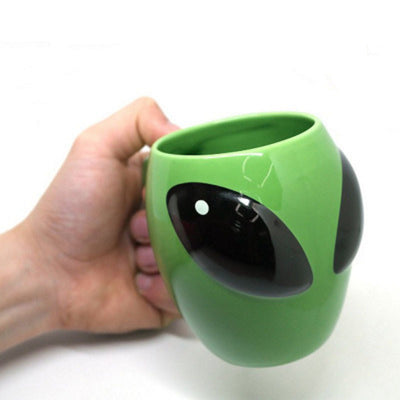 Alien Coffee Mug, 14 oz Tea, Hot Chocolate Aliens Funny Gift Coffee Cup for Women and Men, Office or Home. - Aliens Poop