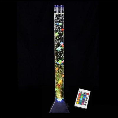 "Artificial Tube Aquarium LED Bubble Motion Lamp 35"" Fish Tank-Aliens Poop"