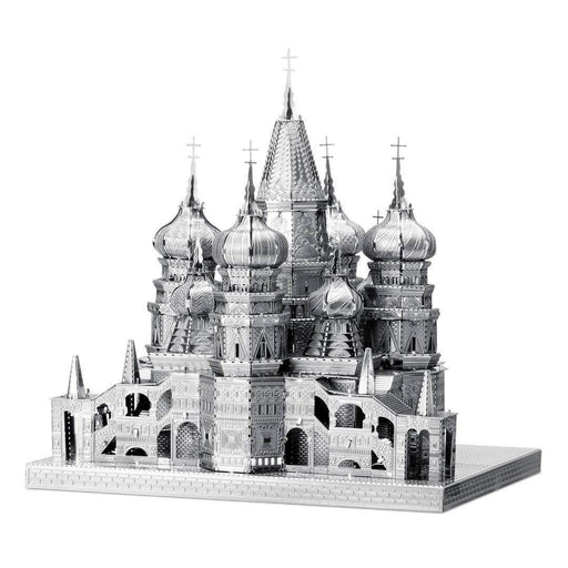 Shop Fascinations ICONX Saint Basil's Cathedral 3D Metal Model Kit - Aliens Poop