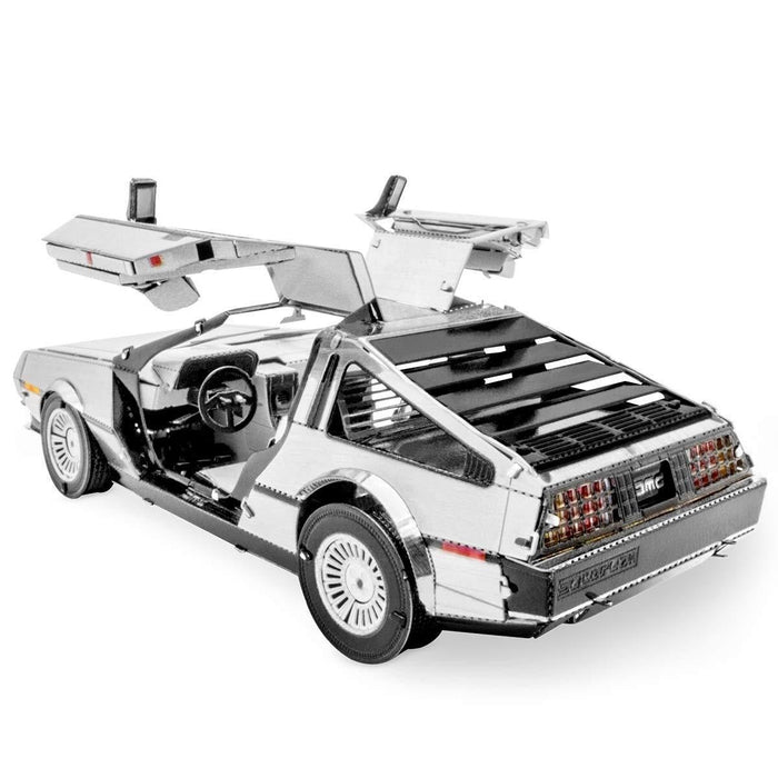 Shop Fascinations Metal Earth Delorean 3D Metal Model Kit - Aliens Poop