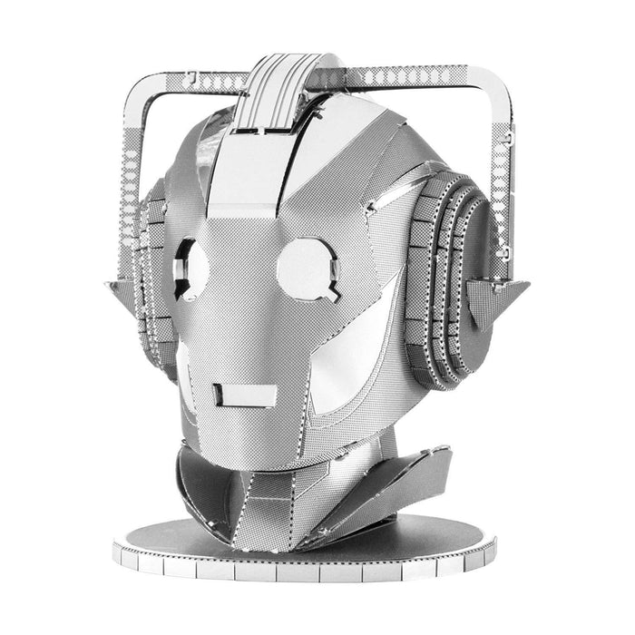 Shop Fascinations Metal Earth Doctor Who Cyberman Head 3D Laser Cut Model - Aliens Poop