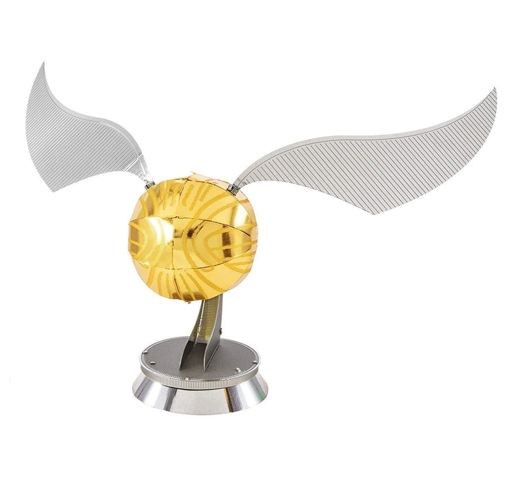 Shop Fascinations Metal Earth Harry Potter Golden Snitch 3D Metal Model Kit - Aliens Poop