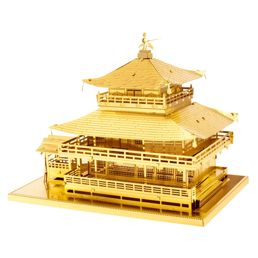 Shop GOLD Kinkaku-ji building Metal Earth 3D Metal Puzzle - Aliens Poop