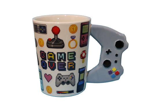 Shop Game Controller Coffee Mug, 13 oz Ceramic Coffee Mug - Aliens Poop