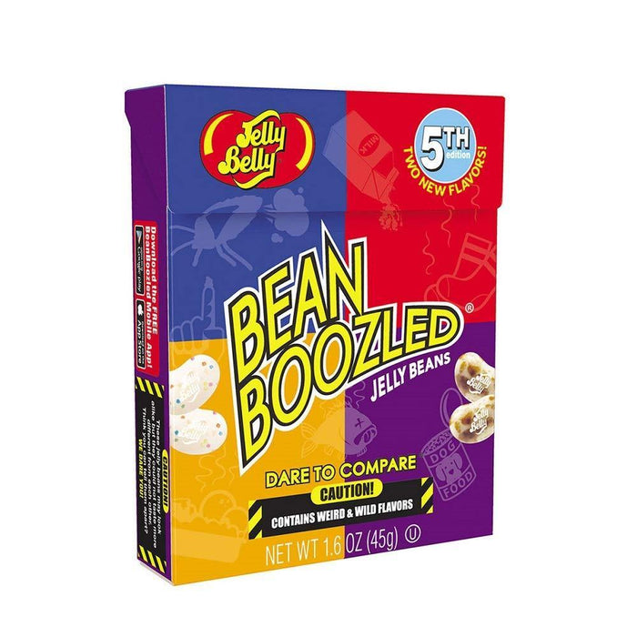 Shop Jelly Belly Bean Boozled Jelly Beans 5th Edition NEW Flavors Stinky Socks 1.6 oz - Aliens Poop
