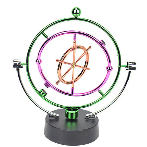 Shop Kinetic Art Perpetual Motion Executive Desk Toys - Boat's Wheel - Aliens Poop