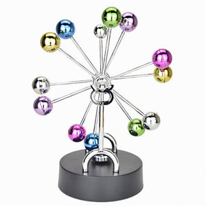 Art in Motion Ferris Wheel Colorful Balls Perpetual Motion Desk Toy-Aliens Poop