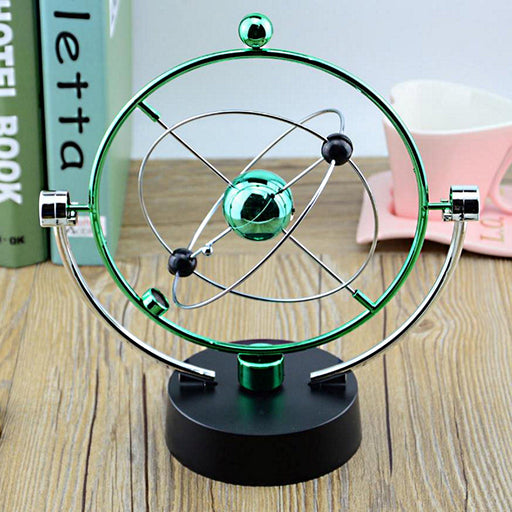Shop Perpetual Motion Desk Sculpture Toy Moon Kinetic Art - Aliens Poop