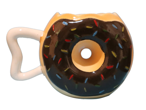 Shop Donut with Sprinkles Coffee Mug, 14 OZ Ceramic Coffee Mug - Aliens Poop
