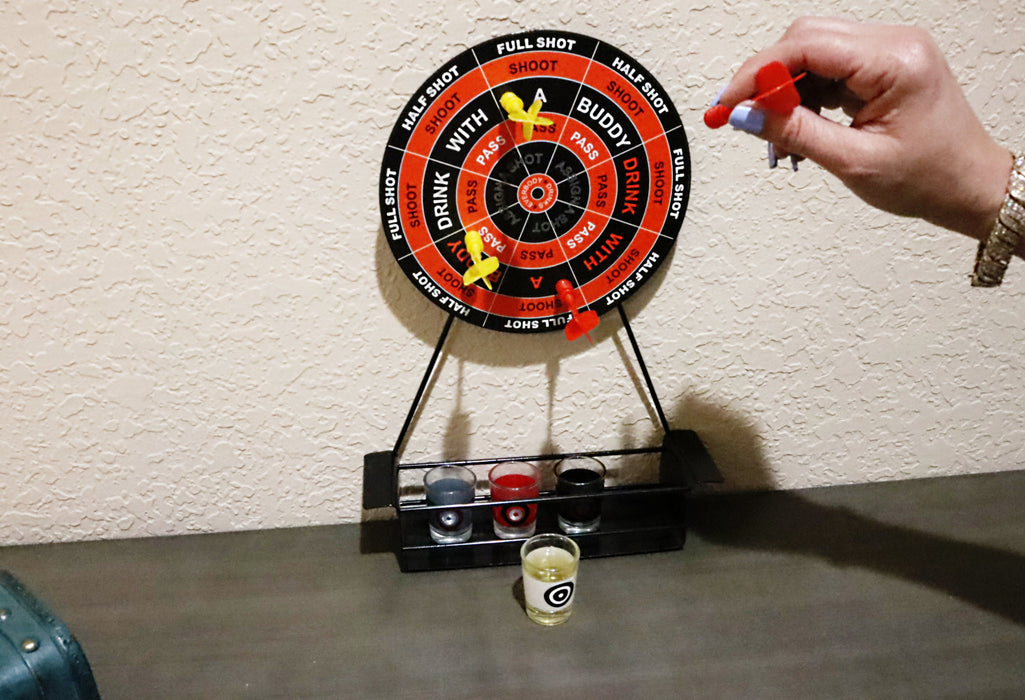 Shop Magnetic Dart Party Drinking Game - Aliens Poop